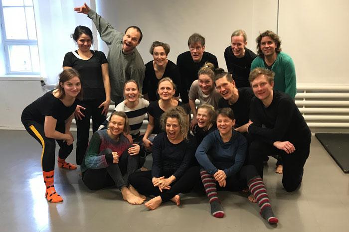 Comedy Workshop Participants